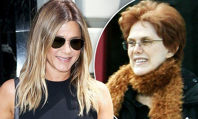 Jennifer Aniston's mother Nancy Dow 'cut the actress out of her will'