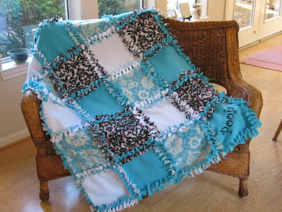 Quot One Of A Kind Quot Patchwork Fleece Blanket Custom Order