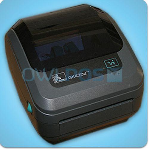 Zebra GK420D Direct Thermal Barcode Shipping Label Printer UPS USPS FedEx