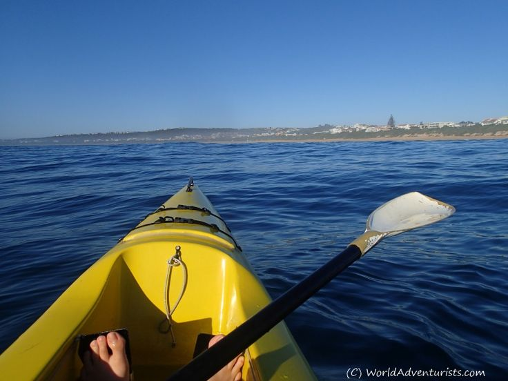 # Kayaking In #PlettenbergBay #South Africa
