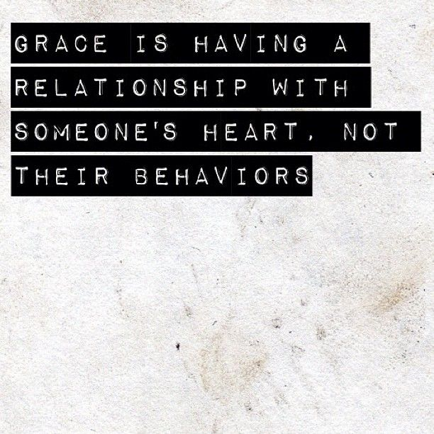 Um...wow. #grace #undeserving  Thankful that God is more concerned with my heart rather than my behavior.