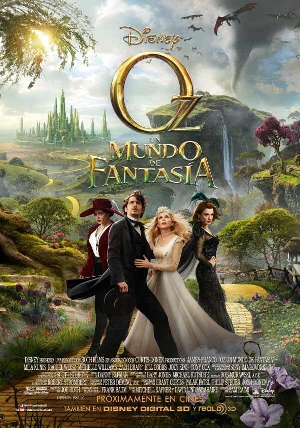 Oz Un mundo de fantasía (2013) | Online Español Latino