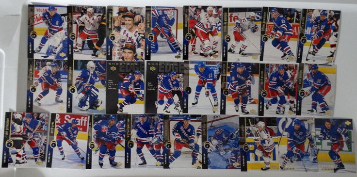 1994-95 Upper Deck UD New York Rangers Team Set of 25 Hockey Cards #UpperDeck #NewYorkRangers