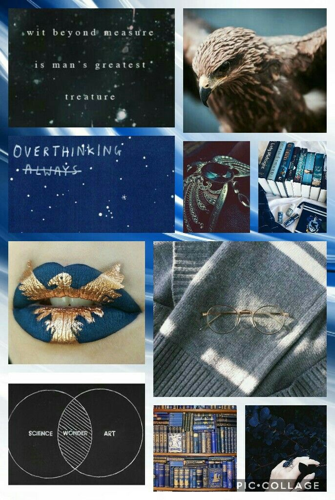 Ravenclaw Girl Aesthetic Ravenclaw Wonder Art Ravenclaw Pride