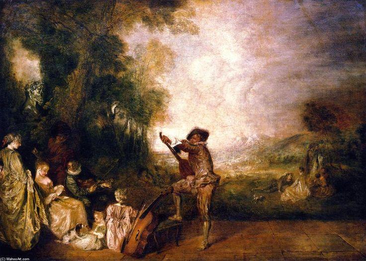 Fragonard Painting Art Institute Chicago
