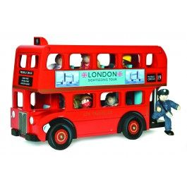 baby t so so so needs this (especially after our euro trip!): Buses, Vans, Wooden Toys, Driver, London Bus, Kid, Van London