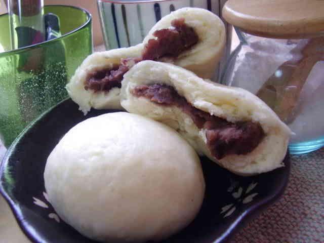 ふわふわの蒸しパン♪の画像