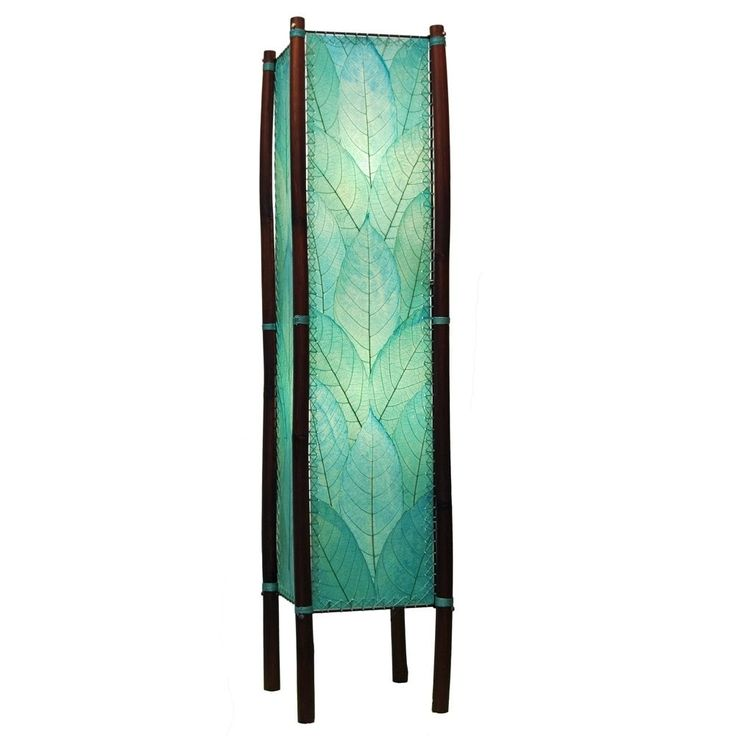 Eangee Handmade Fortune Large Floor Lamp (Philippines) (Sea blue) (Iron)