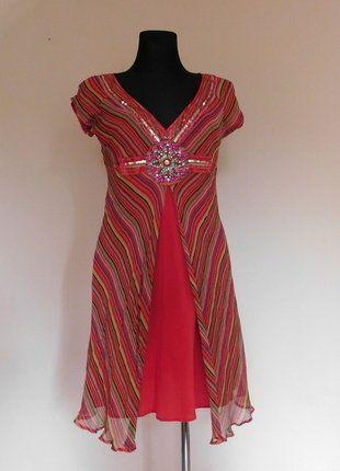 Kup mój przedmiot na #vintedpl http://www.vinted.pl/damska-odziez/krotkie-sukienki/17685740-warehouse-czerwona-sukienka-jedwab-38-40