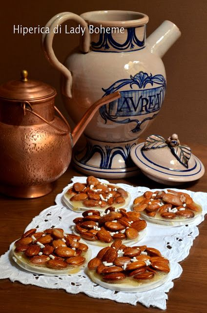 Italian food - Dolci tradizionali di Siena:  Copate senesi