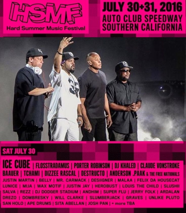 Hard Summer Lineup 2016: Ice Cube and Major Lazer