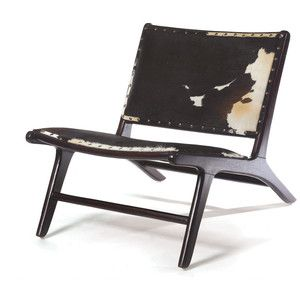 Cowhide Occassional Chair Nice Ideas