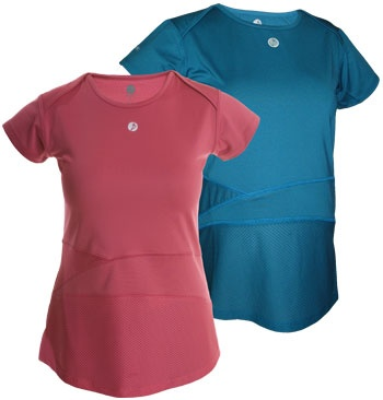 BornFit Sunlight Tee - Nice. A REAL maternity fitness tee. Because some of us do not glow, ever. We sweat.
