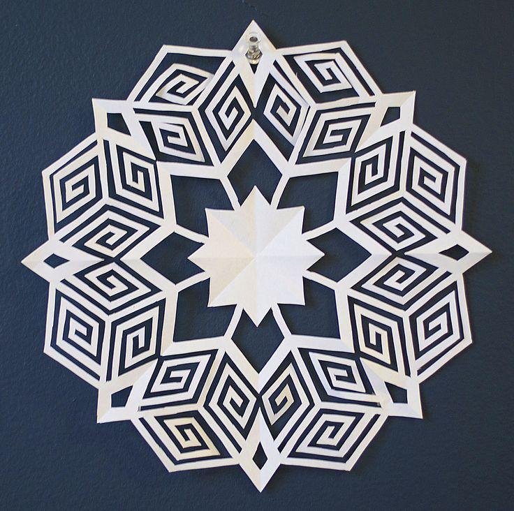 19 best DIY Pop Culture Paper Snowflakes images on Pinterest ...