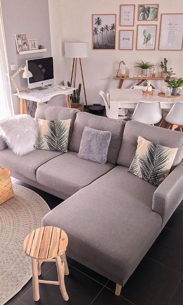 57 Creative Ideas For Small Living Room Decoration 2020 Part 10 Living Room Colors Living Room Decor Apartment Living Room Color