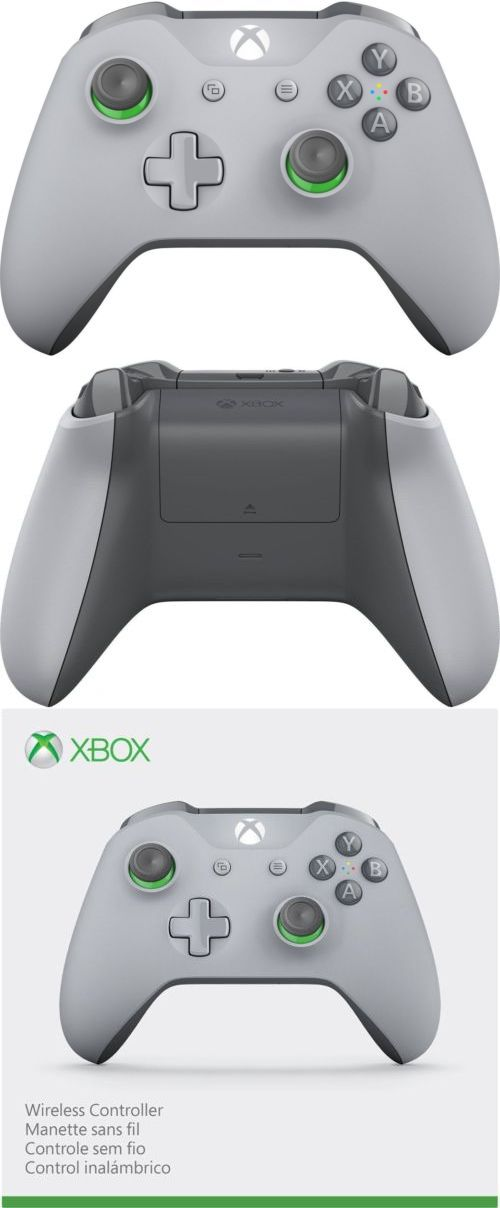 2f6918e429e Controllers and Attachments 117042  Microsoft Xbox One Wireless Controller  - Grey Green -  BUY IT NOW ONLY   58.99 on  eBay  controllers  attachments  ...