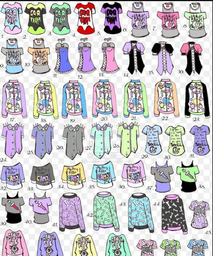 Картинки одежды распечатки