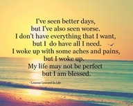 far from perfect, but most certainly blessed ♥
