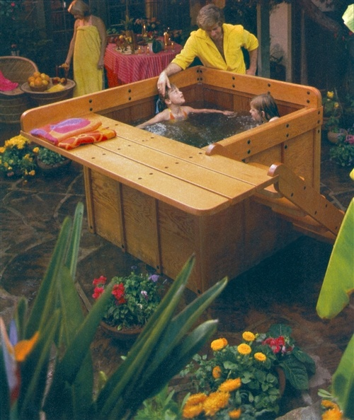 17 Best Images About Homemade Hot Tubs On Pinterest