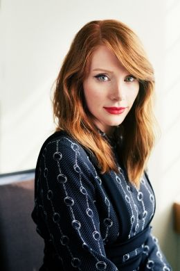 REPIN::Bryce Dallas Howard; My mum loves Twilight. I've seen bitsn'pieces of the saga. I have seen her in Jurassic World.I think she's another choice, along with Isla Fisher, Hayden P, A.Rai for Aurellan, wife of George K jnr. Could explain Peter's red hair then!!! If Bryce didn't play Aurellan, but played a Diplomat or Starfleet Officer instead, she could be the lover of Kirsten's new character!!