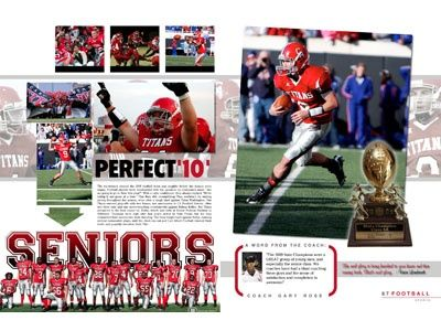 love the faded picture in the background | yearbook ...