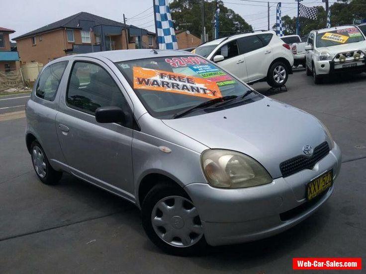 2002 Toyota Echo NCP10R Silver Manual 5sp Manual Hatchback #toyota #echo #forsale #australia