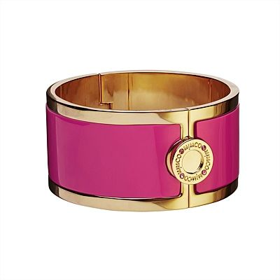 Wide Hinged Cuff (hot pink) #mimcomuse