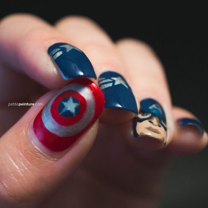 Captain America | Petite Peinture