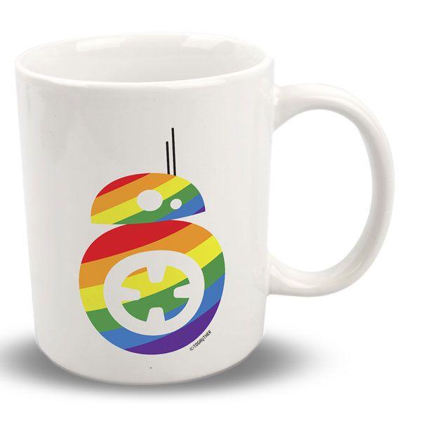 """#Taza #Gay #BB8 con frase: """"Soy el androide que buscabas"""" Este y más producto en http://www.togayther.es/tienda-gay/"""
