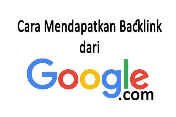 Bagaimana sih cara mendapatkan backlink dari Google? Ada beberapa cara mudah untuk mendapatkan backlink dari google.com yang coba anam.my.id jelaskan melalui artikel ini. Simak baik-baik ya.. Gampa…