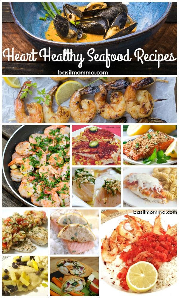 Heart Healthy Seafood Recipes - Get recipes for some of the tastiest and easiest heart healthy seafood recipes on basilmomma.com