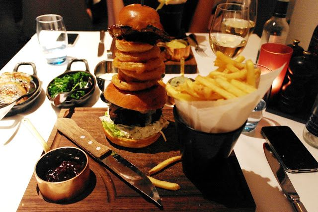 The Stack Burger - The Londoner