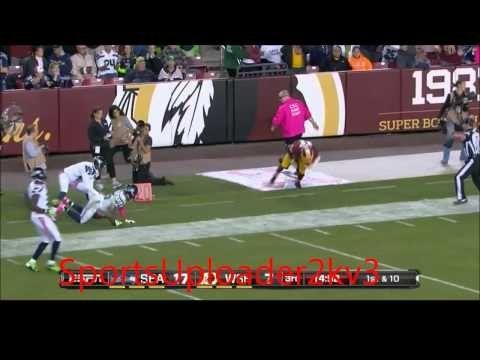 cool Seahawks vs Washington MNF 2014 highlights Check more at http://www.matchdayfootball.com/seahawks-vs-washington-mnf-2014-highlights/
