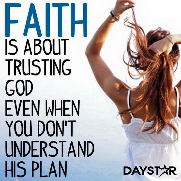 Faith means you trust God for tomorrow when today seems to be far from where you expected to be. Sometimes God's methods, detours, and ways don't make sense but in the end He will always lead you to where He wants you to be. Trust Him.