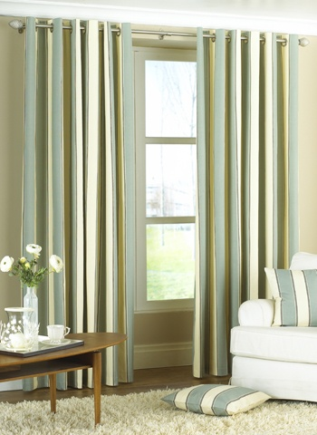 Style Of Gatsby Duck Egg Blue Eyelet Ready Made Curtains Pictures - Popular ready made curtains Amazing