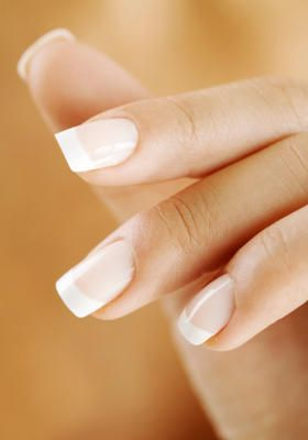 French Manicure. Simple and pretty :)