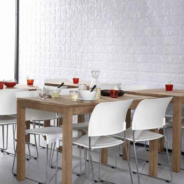 Table Ethnicraft Horeca Chene en 120 - Ideesboutique com