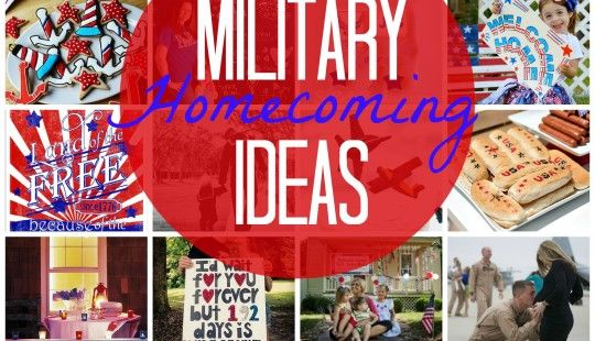 Military homecoming ideas welcome home ideas pinterest for Military welcome home party decorations
