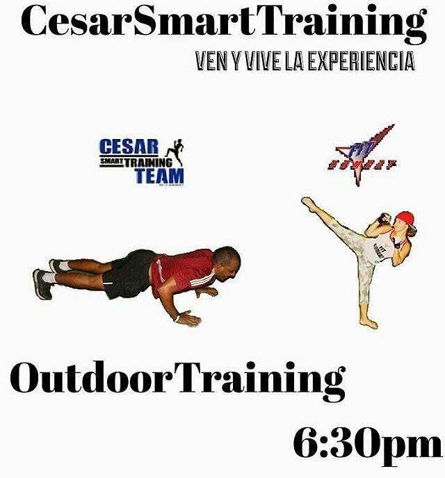 #LunesDeEmprendedoresEnLaIsla  @Regrann from @cesartrainer11 -  #LosViernesTambienSeEntrena Y se combinan dos formas de entrenar pensado para ti un #OutdoorTraining de alto rendimiento. Ven y vive la experiencia... #HIIT lo mejor del entrenamiento anaeróbico con @cesartrainer11 sumado a un entrenamiento aeróbico con @fitcombat y la súper power @iingridfitness Lugar: Cancha de futsala al lado del centro de bateo del Sambil Margarita Dia y Hora: Viernes a las 6:30pm Costo: 300Bsf p/p Recuerda…