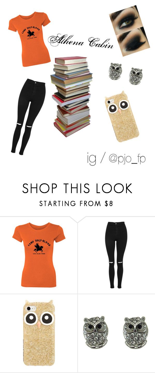 """Athena Cabin"" by pjo-fp ❤ liked on Polyvore featuring Topshop and Kate Spade"