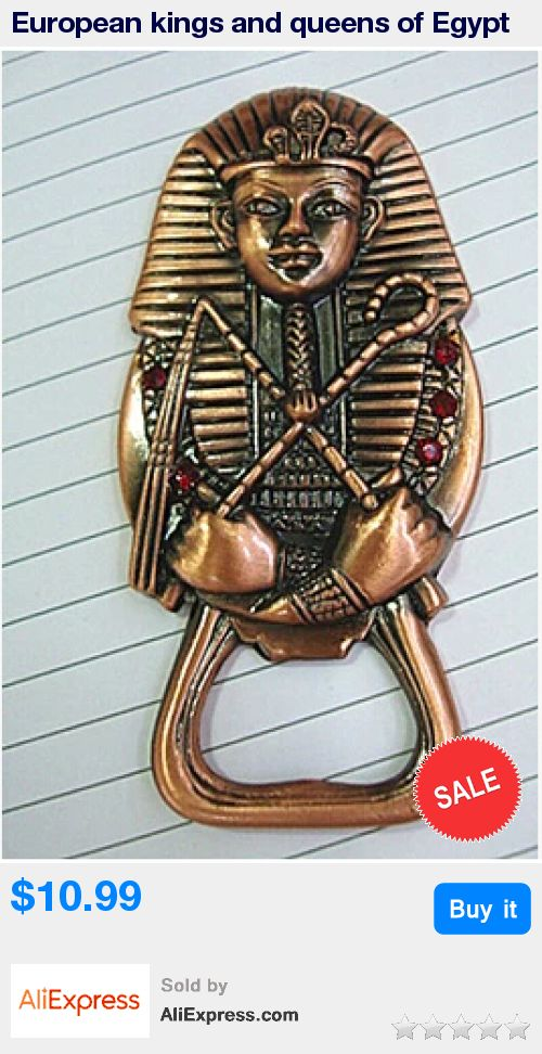 European kings and queens of Egypt avatar red copper metal opener, bar accessories, home decoration KPQ004 * Pub Date: 17:24 Aug 11 2017