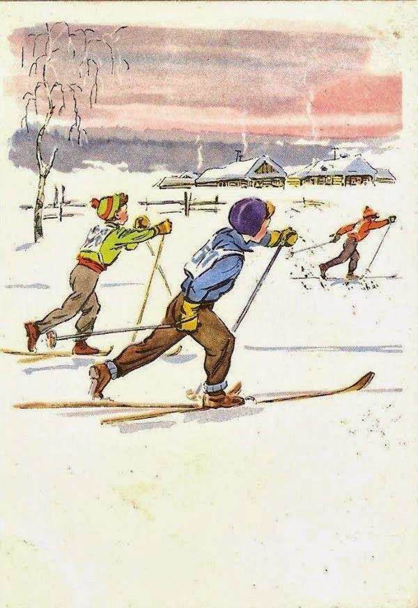 Ссср открытки спорт