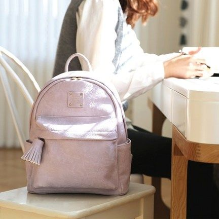 Nuevo Mini Office Leather Backpack