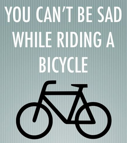 There's absolutely no boring moment when you are on your bike. Simply say, you can't be sad while riding your bike! Share if you agree.