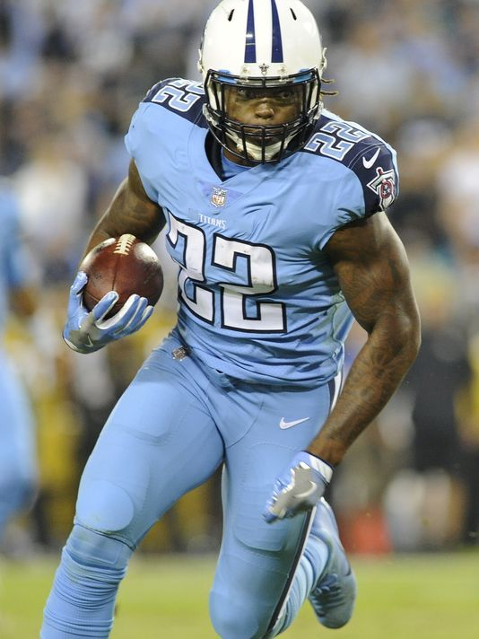 16 Running Back Derrick Henry, Tennessee Titans. | Titan up | Titans  for sale