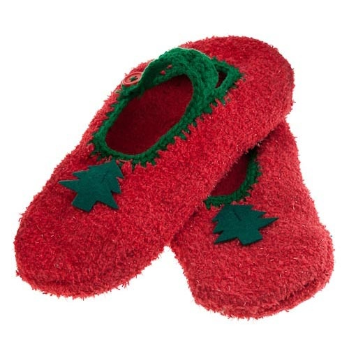 Ladies Christmas Slippers | Poundland