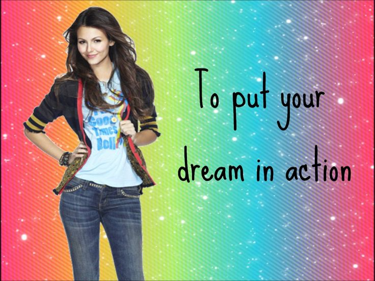 """Victoria Justice- Victorious theme song """"Make it shine"""" MOST AMAZING FONT....... Sue Elle Francisco Lyrics from: http://metrolyrics.com LOL at the end xD"""