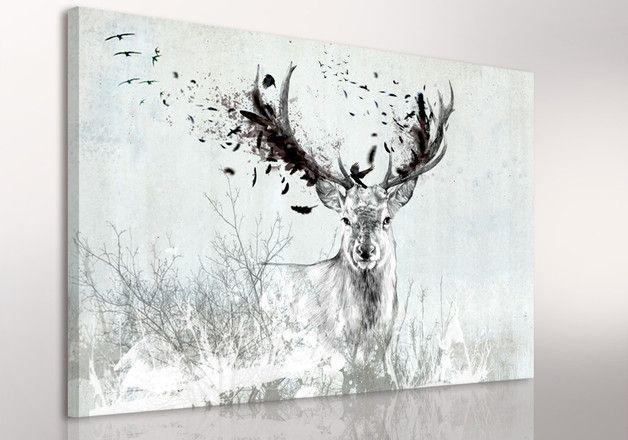 Leinwandbild LUdesign entstand aus der Vorliebe für Kunst und Schönheit. Unsere Grafiken sind die Werk von Agnieszka Nowacka, die die Technik der traditionellen Malerei mit der Computergrafik...