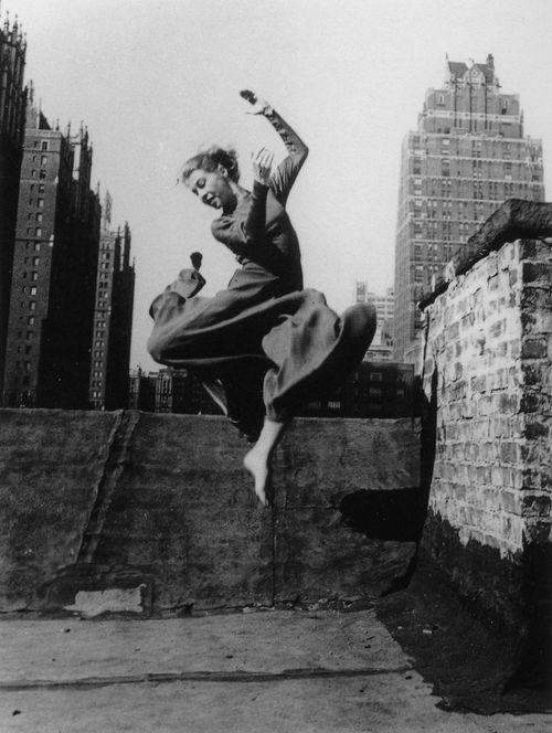 Ellen Auerbach      The Dancer Renate Schottelius, New York City       c.1947