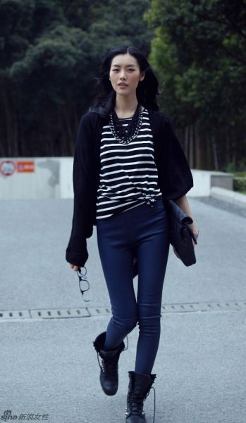 ☆ Rock 'n' Roll Style ☆ Liu Wen